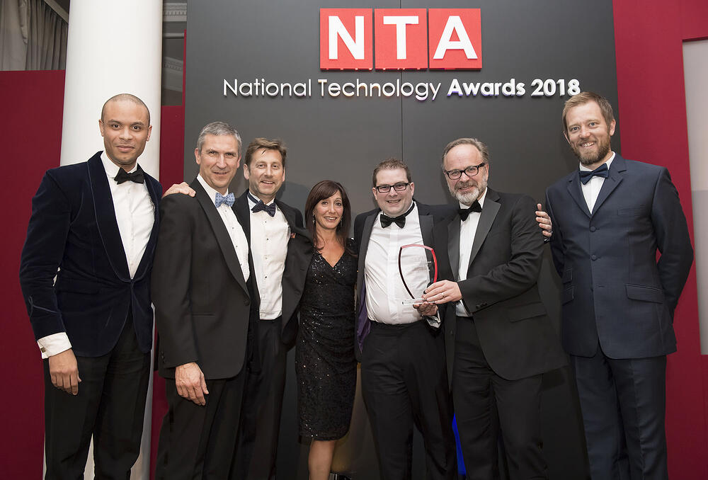 SuMo team at National Technology Awards