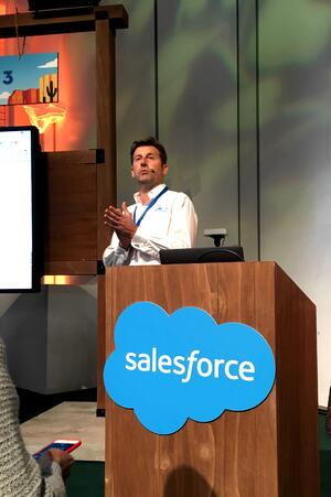 Demo Jam at Salesforce world Tour