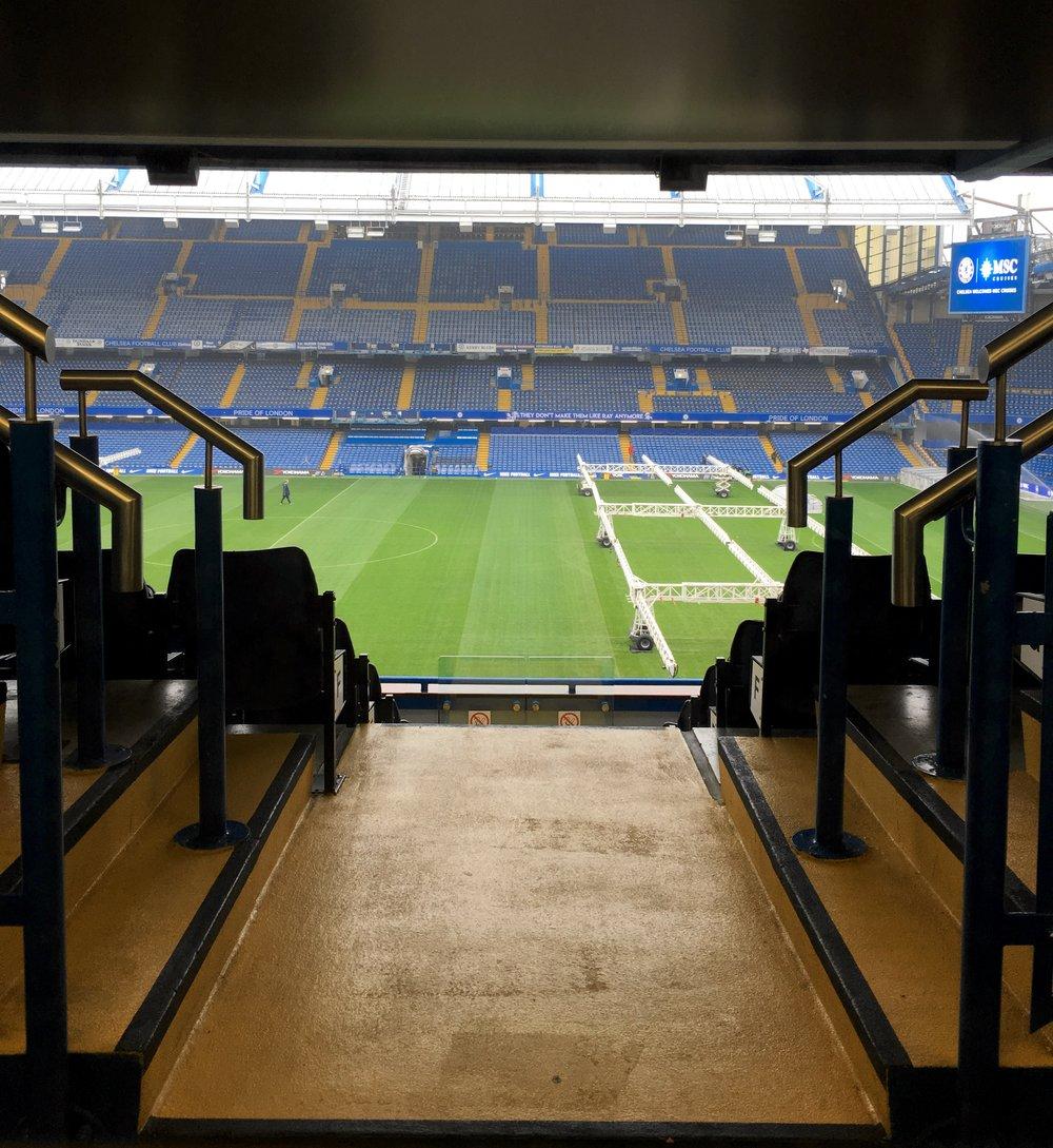 Chelsea Football Club Stamford Stadium