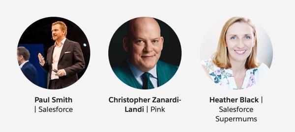 Salesforce World Tour London Speakers