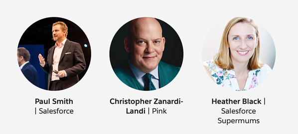 Salesforce World Tour London Speakers